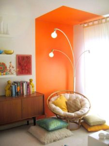 bold color interior design